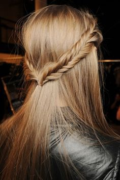 Fishtail Halo Braids #hair