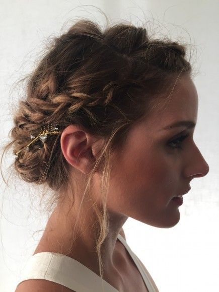 Olivia Palermo shares her tips for a romantic braided up-do