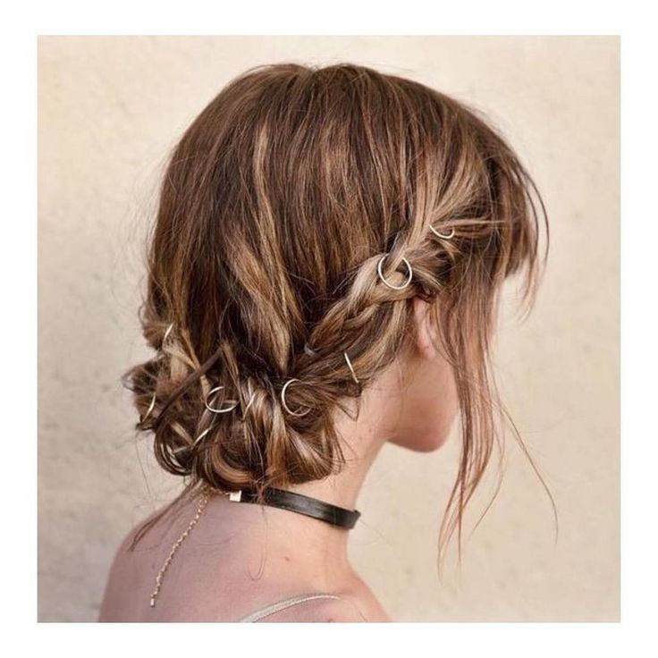 Pierced Braid Hairstyle / Click for the How-To
