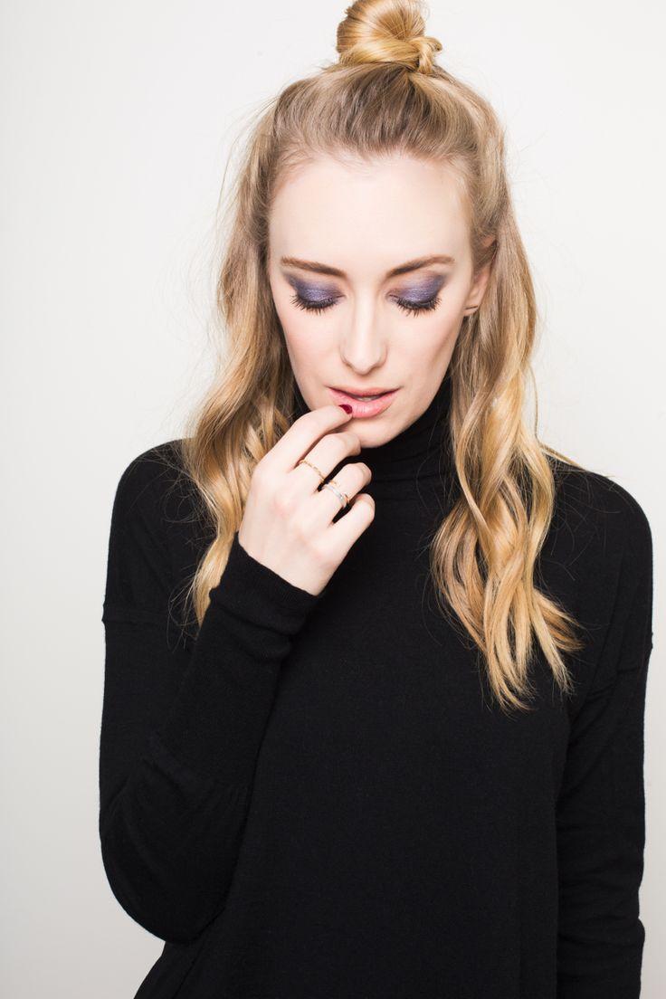 Purple smokey eye by Fiona Stiles #fionastilesbeauty #makeup #beauty