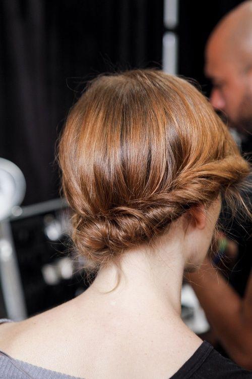 side twist | hair