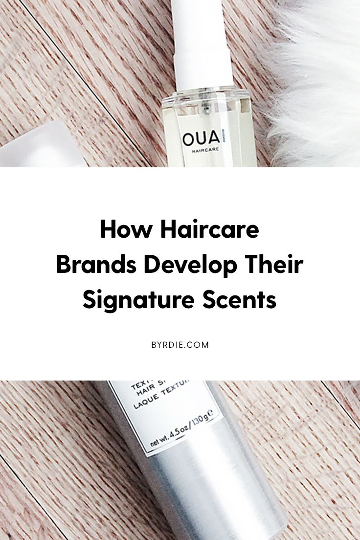 The secret behind haircare brands signature scents