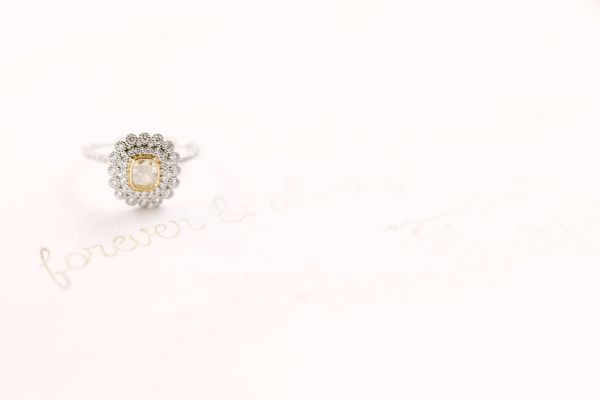 A vintage engagement ring: www.stylemepretty... | Photography: Mint - mymintphot...