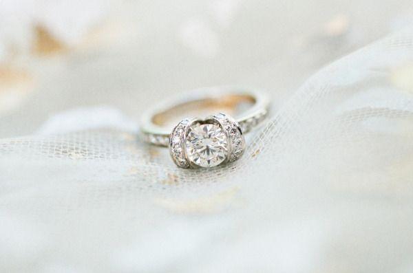 Breathtaking unique engagement ring: www.stylemepretty... | Photography: Jemma K...