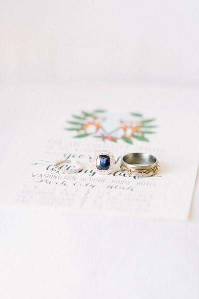 Dreamy sapphire: www.stylemepretty... | Photography: D'Arcy Benincosa - www.beni...