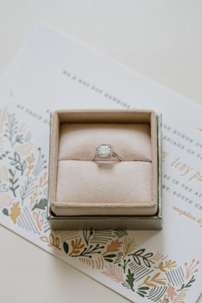 Engagement ring: www.stylemepretty... | Photography: Shannon Michele -  shannonm...