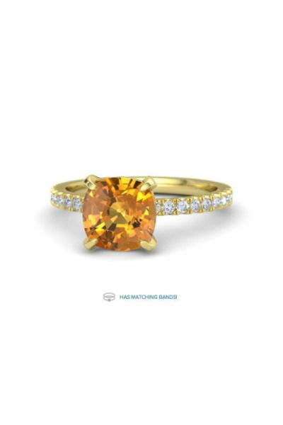 Gemvara gives us the right amount of vintage flare with this engagement ring: ww...
