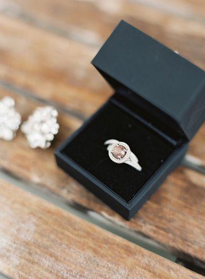 Gorgeous alexandrite stone: www.stylemepretty... | Photography: Joey Kennedy - j...