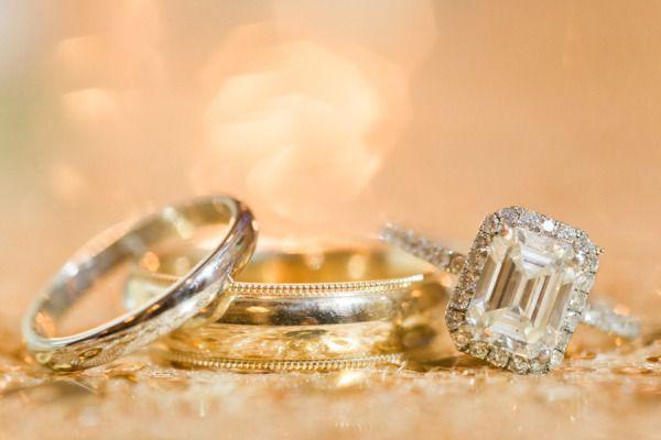Gorgeous diamond ring: www.stylemepretty...   Photography: The McCartneys - meet...