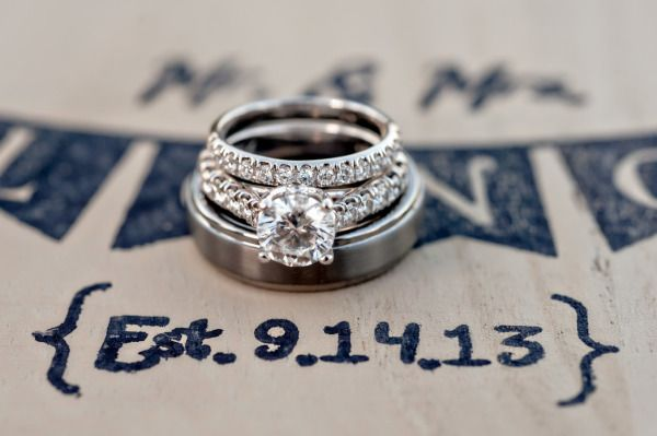 Love this engagement ring photo: www.stylemepretty...   Photography: B&G Photogr...