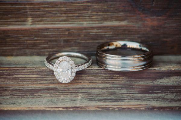 Oval cut engagement ring: www.stylemepretty... | Photography: Krista Mason - kri...