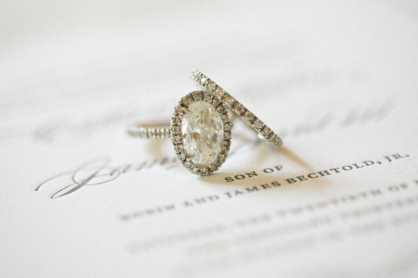 Oval engagement ring: www.stylemepretty... | Photography: Lane Dittoe - laneditt...