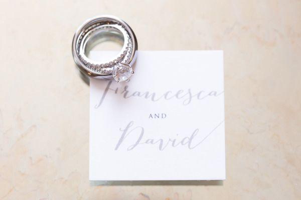 Pretty wedding rings: www.stylemepretty... | Photography: J. Anne - www.j-anneph...
