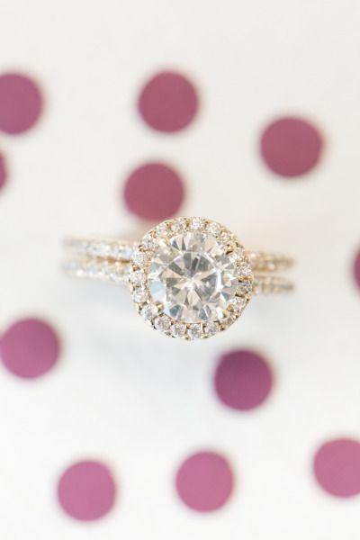 Raspberry + Striped Wedding Inspiration: www.stylemepretty... | Photography: Ama...