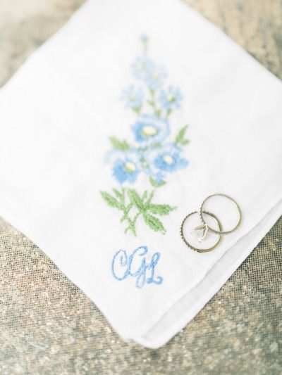 Something Blue and the engagement ring: www.stylemepretty... | Photography: Rach...