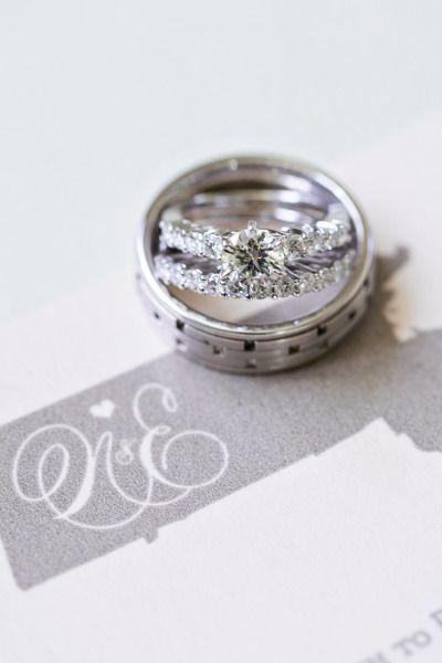 Sparkly engagement rings: www.stylemepretty...   Photography: Samantha Melanson ...