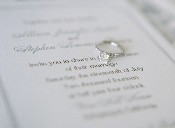 Sweet engagement ring: www.stylemepretty... | Photography: Christina McNeill - w...
