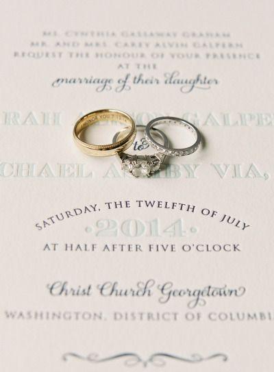 Vintage inspired engagement ring: www.stylemepretty... | Photography: Vicki Graf...