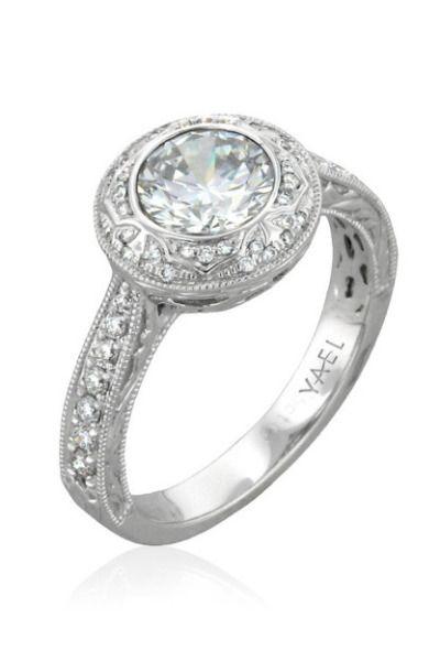 Yael Designs engagement ring: www.stylemepretty...