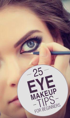 25 Eye Makeup Tips For Beginners #makeup #eyemakeup #tutorial Pinterest @@stylex...
