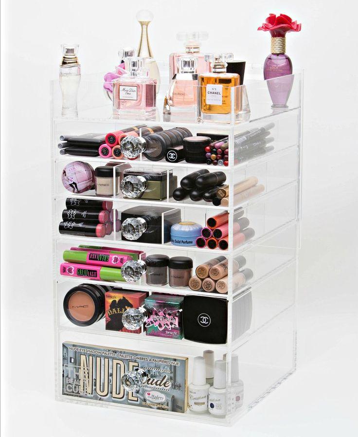 Acrylic Makeup Organizer 7 Tier Tall – The Makeup Organizer