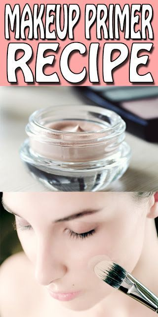 diy makeup primer recipe's only for you. stop using those chemical based primers...