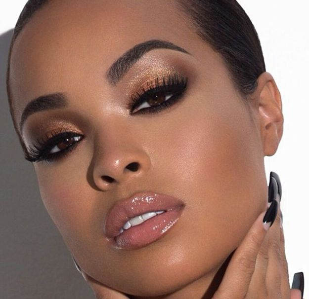 Eyeshadow Ideas for Black Women I put it in here so I had a place to share the m...