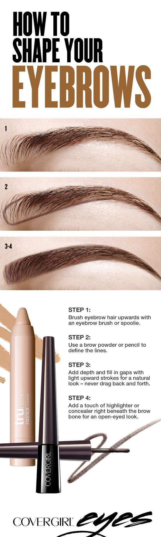 Filling in your eyebrows doesn't have to be a lengthy process. Keep it simple by...