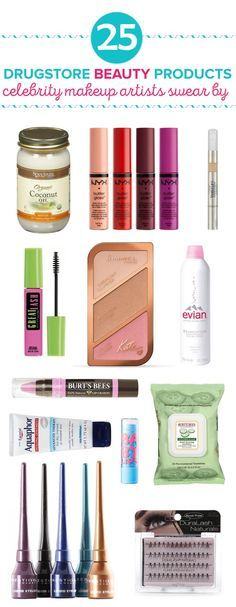 From makeup to skincare, these are 25 drugstore beauty products that celebrity m...