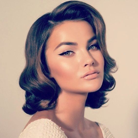 Glamorous Bob - Retro Hair and Makeup Ideas That Will Transport You to Another E...