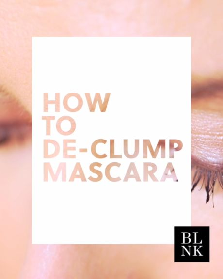 How to de-clump mascara. Keep those pesky splotches in check.