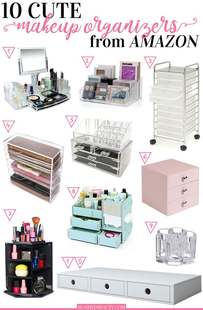 Looking for a cute makeup organizers to make your collection more neat? Check ou...