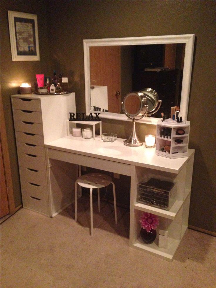 Makeup Organization And Storage Desk