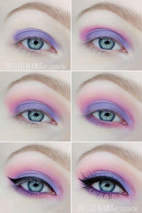 pastelgoth-ojos eye make up. Style inspiration. Please choose cruelty free vegan...