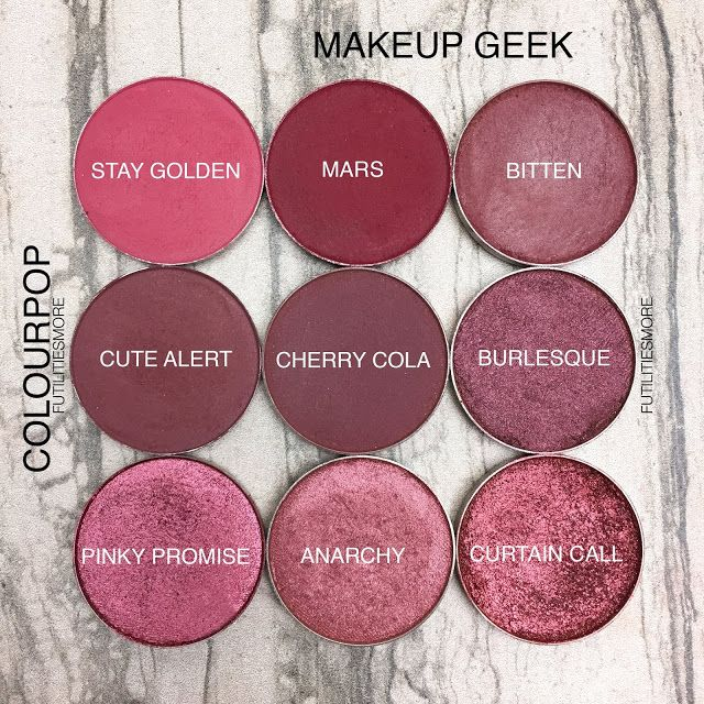 Makeup Ideas 2017 2018 Reds And Burgundies Colourpop Vs Makeup Geek Flashmode Middle East Middle East S Leading Fashion Modeling Luxury Agency Featuring Fashion Beauty Inspiration Culture