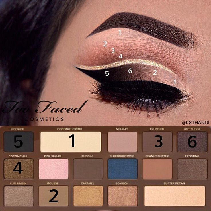 See this Instagram photo by Kiran Thandi • 1,348 likes - Too Faced Semi Sweet ...