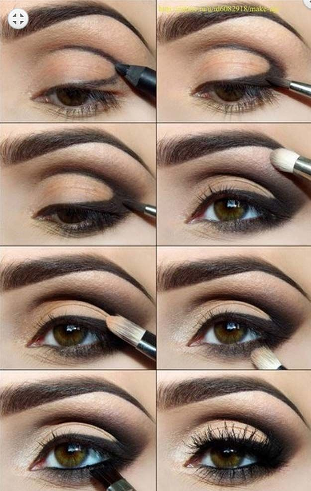 Sexy Eye Makeup Tutorials - Poolside Glitter Goddess - Easy Guides on How To Do ...