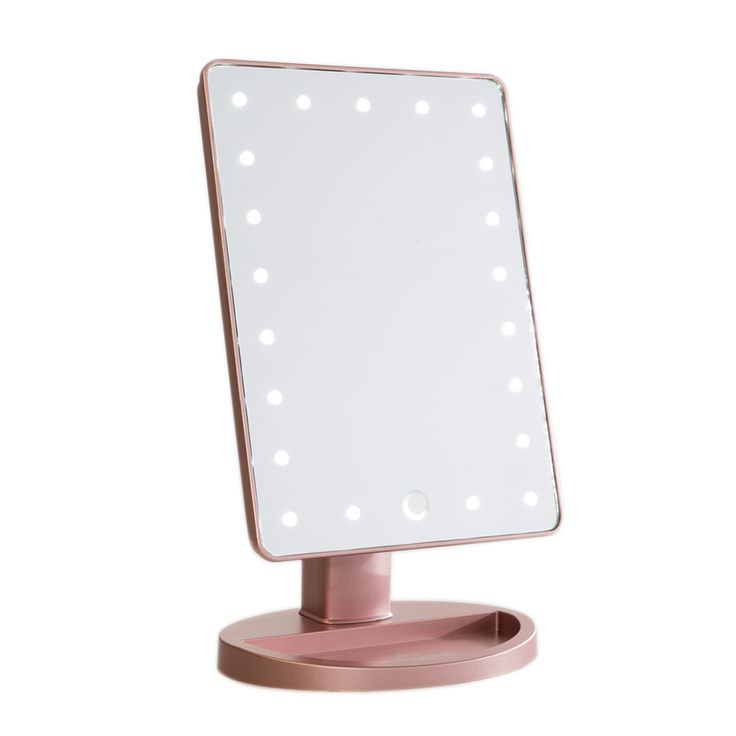 This new version of our travel-friendlyportable makeup mirror now comes in Cha...