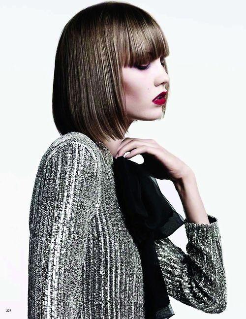 Karlie Kloss by Hedi Slimane (A New Tradition - Vogue Japan June 2013).