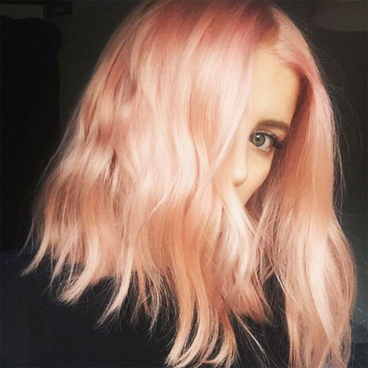 Meet sunset blond—also known as
