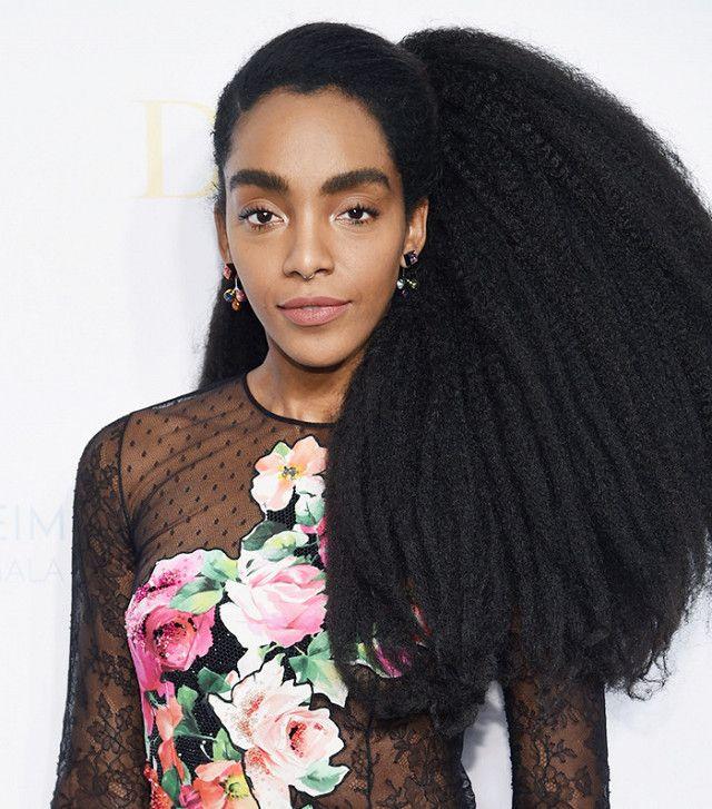Cipriana Quann hair is so beautiful