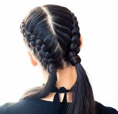 Double dutch braids all. day. every. day. | thecoveteur.com