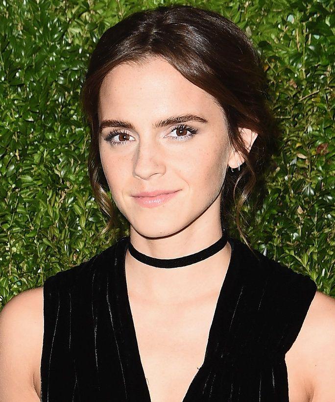 Emma Watson's new darker hair color is so stunning