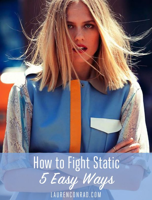 Fight static. Is anyone else dealing with super staticky hair or is it just me? ...