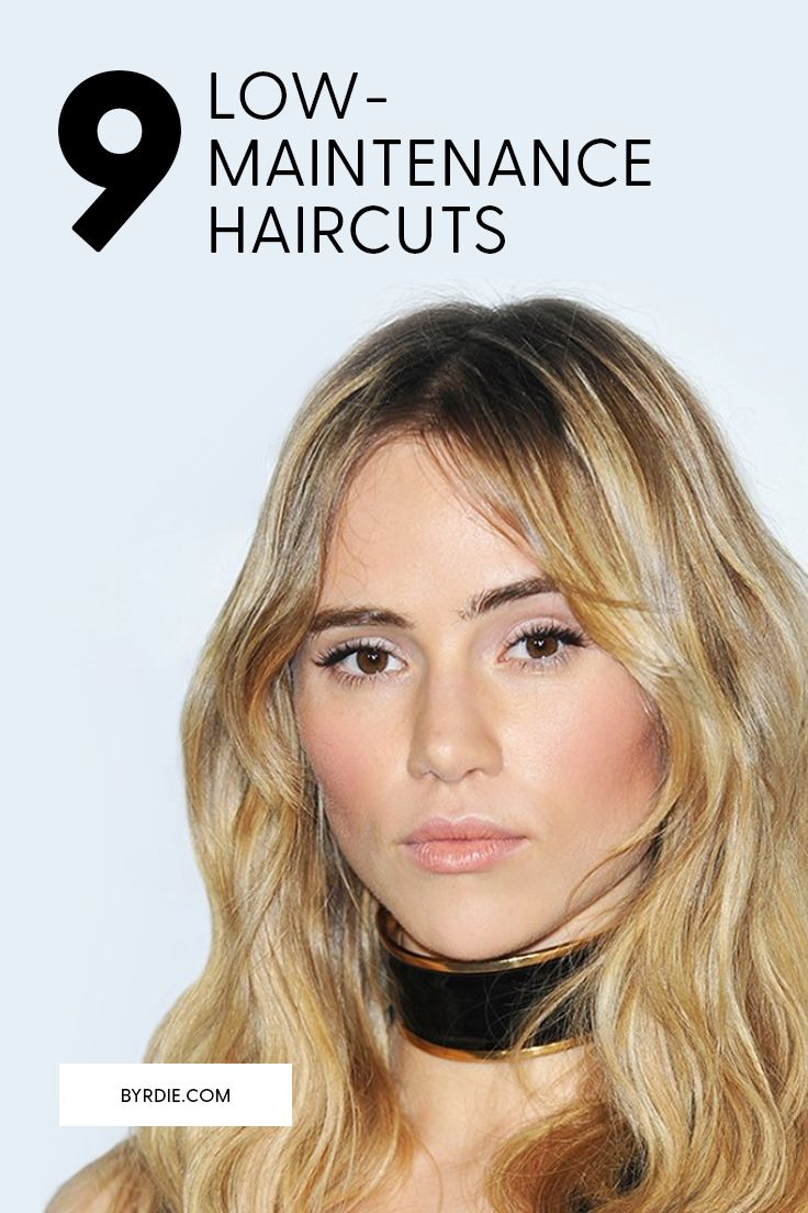 Haircuts that don't require a lot of upkeep or styling