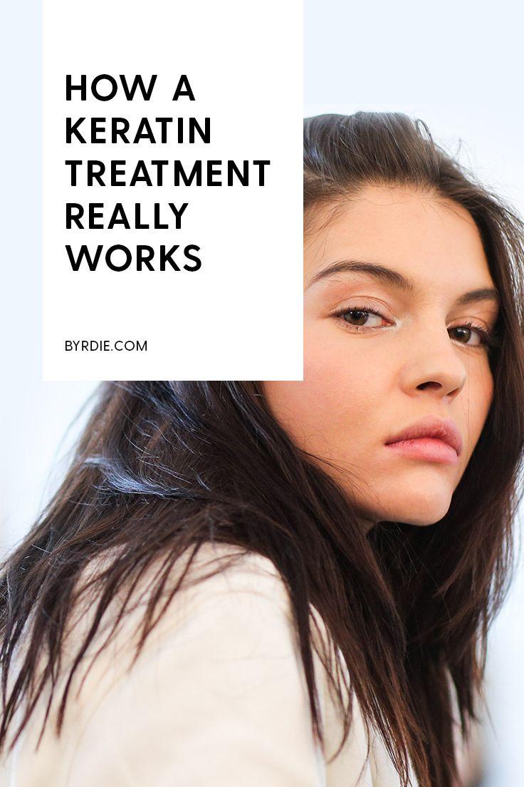 How keratin treatments really work