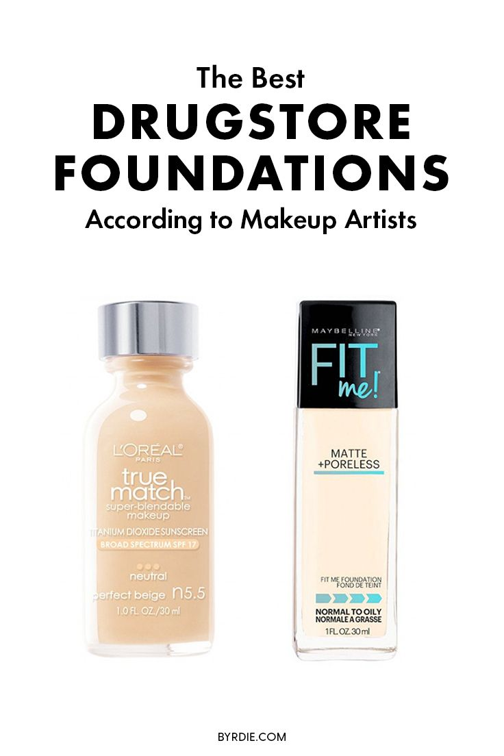 How to find the best drugstore foundations, according to makeup artists