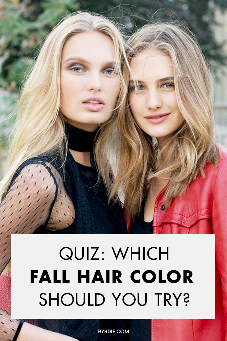 How to find the best fall hair color for you