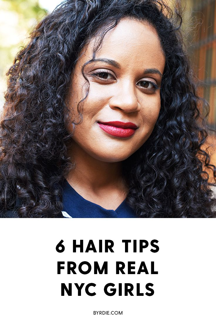 How to get better hair according to NYC women