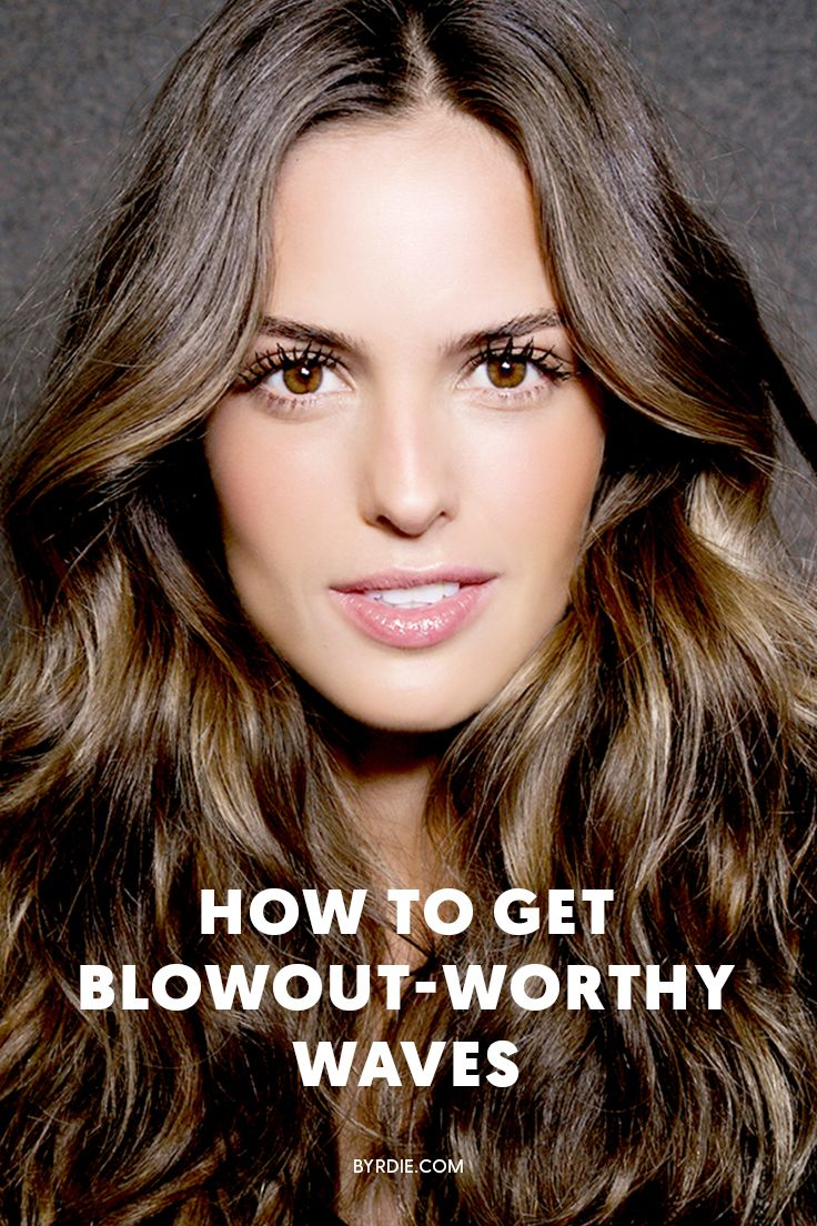 How to get blowout waves at home
